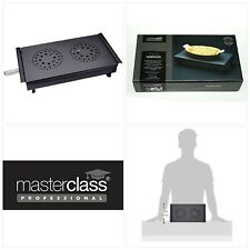 Kitchen Craft Master Class Professional Food Warmer and Plate Warmer with 2 Teal
