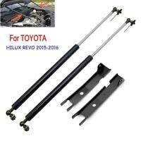 Front Hood Bonet Lift Up Shock Struts For 2015-2016 Toyota Hilux Revo Fortuner