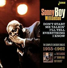Sonny Boy Williamson - Dont Start Me Talkin Ill Tell Everything I Know [New CD]