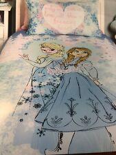 Disney Frozen Kids Duvet Cover +Pillowcase Twin Size
