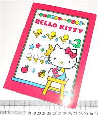 HELLO KITTY 1984 Sanrio Italy notebook school - quaderno scuola nuovo vintage