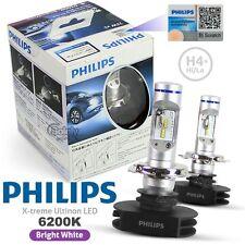 Genuine Pair Philips H4 6200K X-treme Ultinon LED High/Low Beam Headlight Lamp
