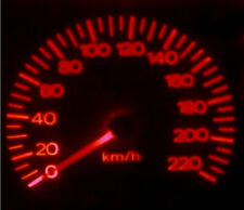 Subaru Impreza WRX My99 My00 Red LED Dash Light Kit