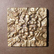 Theo Diel 1927-2015 Bruchsal Wenighösbach / abstrakt sakrales Bronzeobjekt 1983