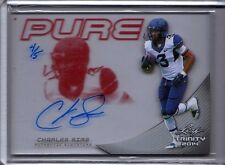 2014 Leaf Trinity Football Charles Sims Red PURE Auto RC 4/5 WVU Buccaneers RB