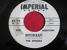 DOOWOP 45- THE SPIDERS - WITCHRAFT / (TRUE)YOU DONT LOVE ME- IMPERIAL 5739 PROMO
