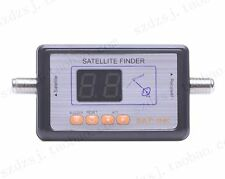 New DVB-S FTA Satellite Signal Finder Directv Meter LCD Buzzle for TV Digital