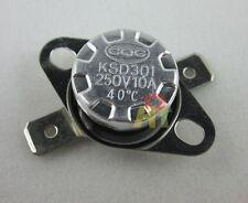 5pcs KSD301 40C 104°F Thermostat Normal Open NO Temperature Control Switch