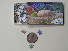 "Mini Jigsaw Puzzle 100 piece 1:12 ""Pumpkin"""