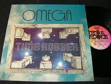 Omega time pilleur/unique German LP 1976 Bacillus Bellaphon BLPS 19233