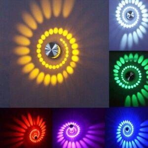 3W LED Wandleuchte RGB Dimmbar Innen Deckenleuchte Effektlicht mit Fernbedienung