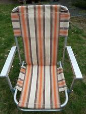 3 campingstühle klappstühle mit armlehne ddr alugestell angelstühle ddr