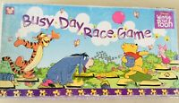 Mattel Disney Winnie The Pooh Busy Day Race Boardgame Rare Vintage