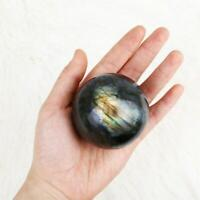 Natural Labradorite Rose Quartz Amethyst Sphere Crystal Ball Healing Citrine