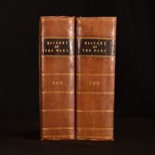 c1795-c1807 4Vol in 2  The Naval and Military History of the War of England Thom