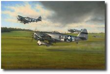Days of Thunder (Aces Edition) by Richard Taylor - P-47 - w/ 4 Extra Signatures!