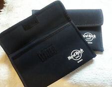 2 neoprene bags from hard rock cafe Roma and Florence Firense Italy