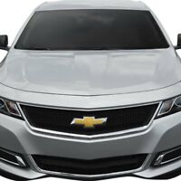 For Chevy Impala 2014-2020 SES Trims 1-Pc Gloss Black Mesh Main Grille