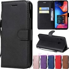 For Samsung Galaxy A10 A20 A30 A50 A70 Leather Magnetic Wallet Flip Case Cover