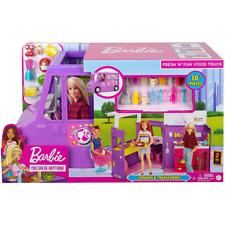 More details for barbie fresh 'n' fun food truck van new kids childrens mattel dolls not included