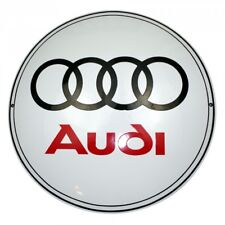 Enamel plaque AUDI 50cm WARRANTY 10 ys sign logo plate emblem collectable