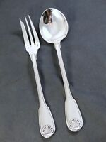 CHRISTOFLE VENDOME Nice Serving set fork & spoon 2pcs / couverts de service
