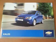 Chevrolet Kalos 07/2007, 24 Seiten