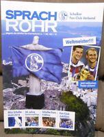 FC Schalke 04 - Sprachrohr Magazin von Fans für Fans #160 S.F.C.V. + Poster /175