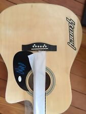POST MALONE SIGNED AUTOGRAPHED ACOUSTIC GUITAR MUSIC SUPERSTAR AUTO JSA