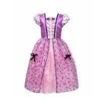 Girls Princess Dresses Costume Little Girl Short Sleeve Snow White Party Dress