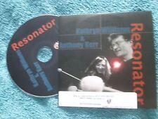 Kathryn Williams & Anthony Kerr – Resonator One Little Indian Promo UK CD Album