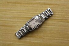 CONCORD STAINLESS STEEL LADIES WATCH WITH MOP DIAL DIAMOND HOUR MARKS 14 25 1422