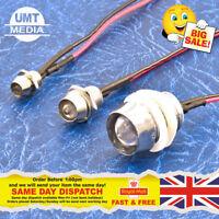 12V pré-câblé led 3mm//5mm//10mm rouge//bleu//vert//blanc//jaune 9V 12 volts avec capuchon