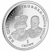 """Ascension Island 2017 Platinum Wedding """"Opening of Parliament"""" Coin"""