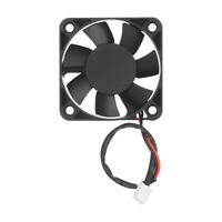 12V Mini Computer Fans Cooling Cooler Small 50mm x 10mm DC Brushless/&PC 2-pin