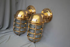 Unbranded Brass Antique Style Wall Lights