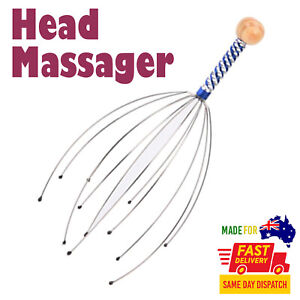 Hand Neck Scalp Head Therapeutic Massager Scratcher Octopus Free Shipping