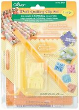 Clover Puff Quilting Clip Set: Large
