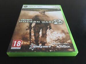 CALL OF DUTY MODERN WARFARE 2 MW2 XBOX 360 EDITION FR PAL COMPLET