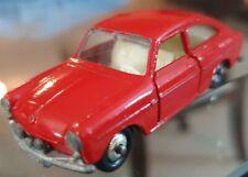Matchbox Lesney 67b VW 1600 TL Red Silver Wheels, Black Tires 67