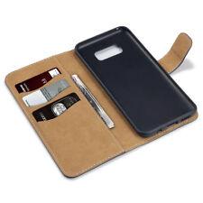 Unifarbene Taschen & Schutzhüllen aus Leder für Samsung Galaxy S5