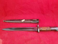 Ww Ii German K98 Mauser Bayonet & Scabboard Matching Numbers unknown (jl)