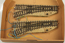 MÄRKLIN H0 Points 2x 5202 Tested - Light and Function OK - Rust/Defects