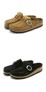 NEW Birkenstock Womens Sandals Buckley Moccasin Closed Toe Buckle Strap Clogs