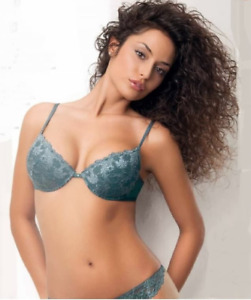 SIELEI 1699 Luxury Lace Underwired Push Up Padded Bra - Matching Thong Available