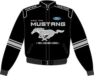 Kids Mustang Racing Jacket - High Quality Embroidery & FREE USA SHIPPING!