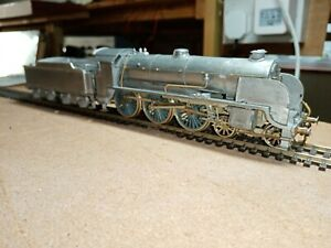OO gauge white metal and brass Southern S15 4-6-0 kit. Unpainted, runs well