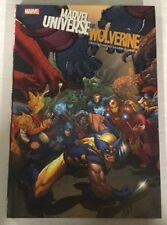 Marvel Universe Vs Wolverine HC NM Near Mint Marvel Comics Captain America