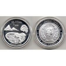 2020 ST. Lucia Moneda 1 onza plata - Lagarto