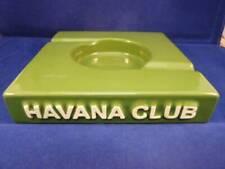 Ashtray Havana Club El Duplo Bottle Green